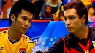 Repeat youtube video Sisaket - Nakhon Pathom Takraw Thailand League 2012 (1st)