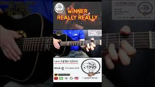위너_리얼리 리얼리 기타커버/WINNER_REALLY …