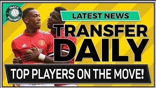 TRANSFER NEWS LATEST LIVE | MARTIAL HAZARD SOKRATIS & MORE!