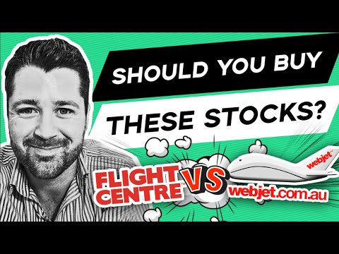 Should These Two Stocks Be In Your Portfolio? (ASX) Flight Centre VS Webjet