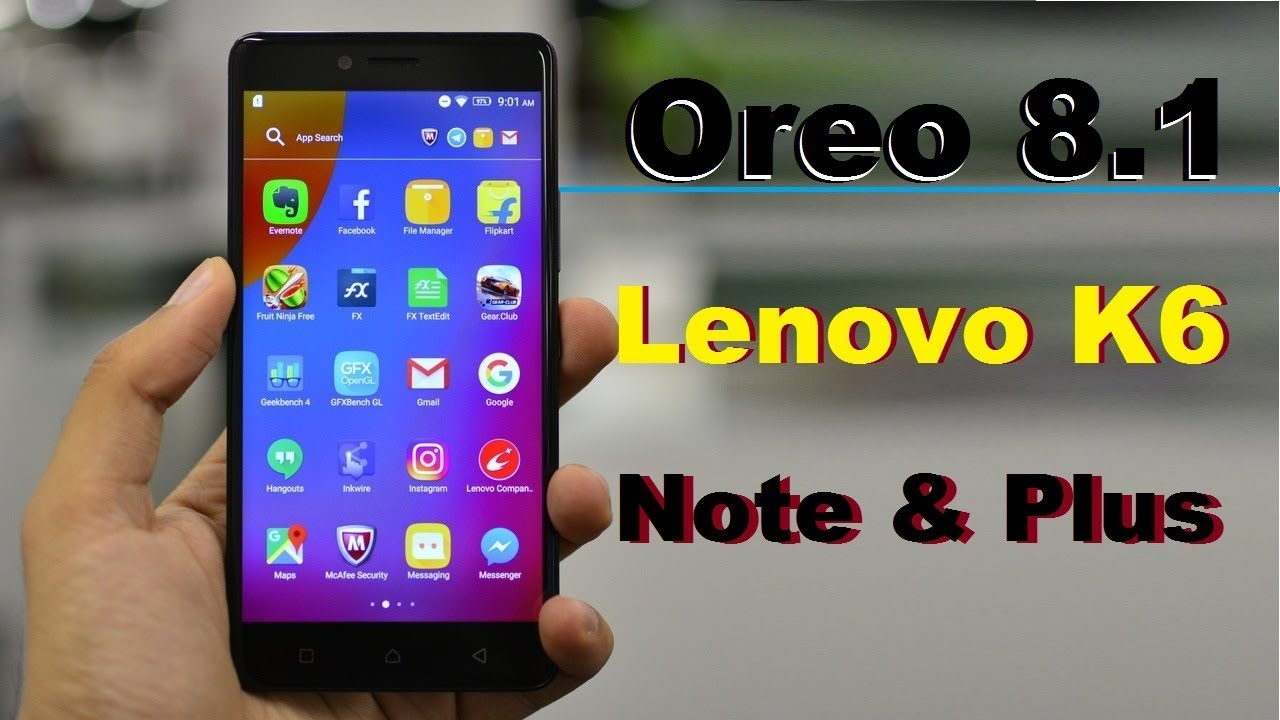 How to Update Android Oreo 8 1 in Lenovo K6 Note and K6 Plus(LineageOS 15 1)