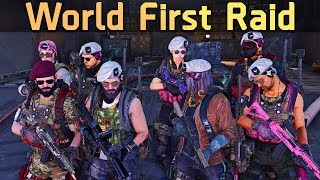 WORLD FIRST RAID COMPLETION | Division 2