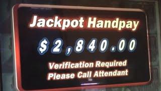 $2840 BIG WIN! Black Widow Gives in on Bonus Round in Blackhawk CO