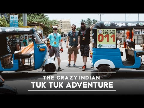 Ch. 1 - Americans Traveling India by Tuk Tuk, Our Arrival! (4K)