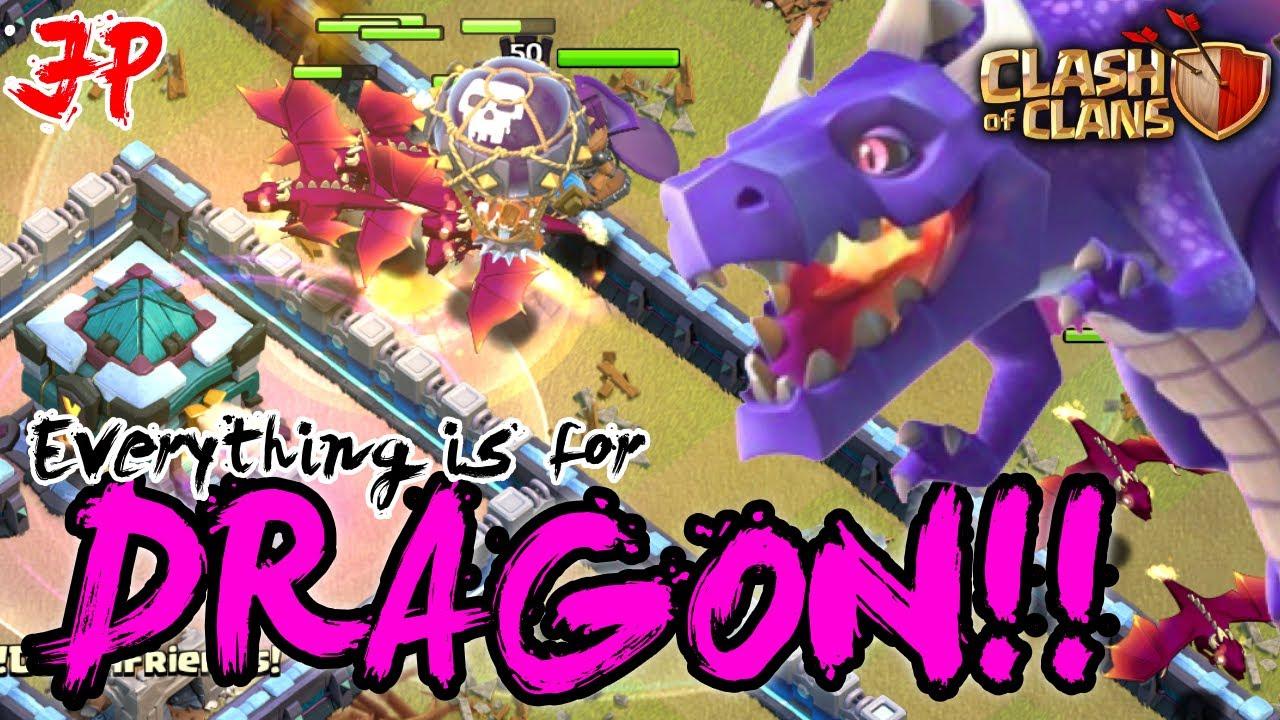 【クラクラ)】ドラゴン使い必勝の心得!!主役はドラゴン!! ヒーローに非ず!!