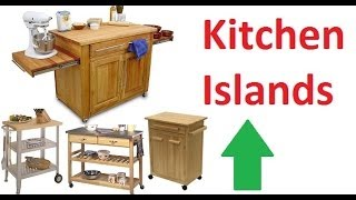 Kitchen Island - Kitchen Island Cart Ideas & Designs