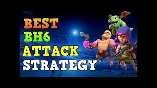 SNEAKY ARCHERS vs BUILDER TH 6 100%! Max Archer BH6 Attacks in Clash of Clans