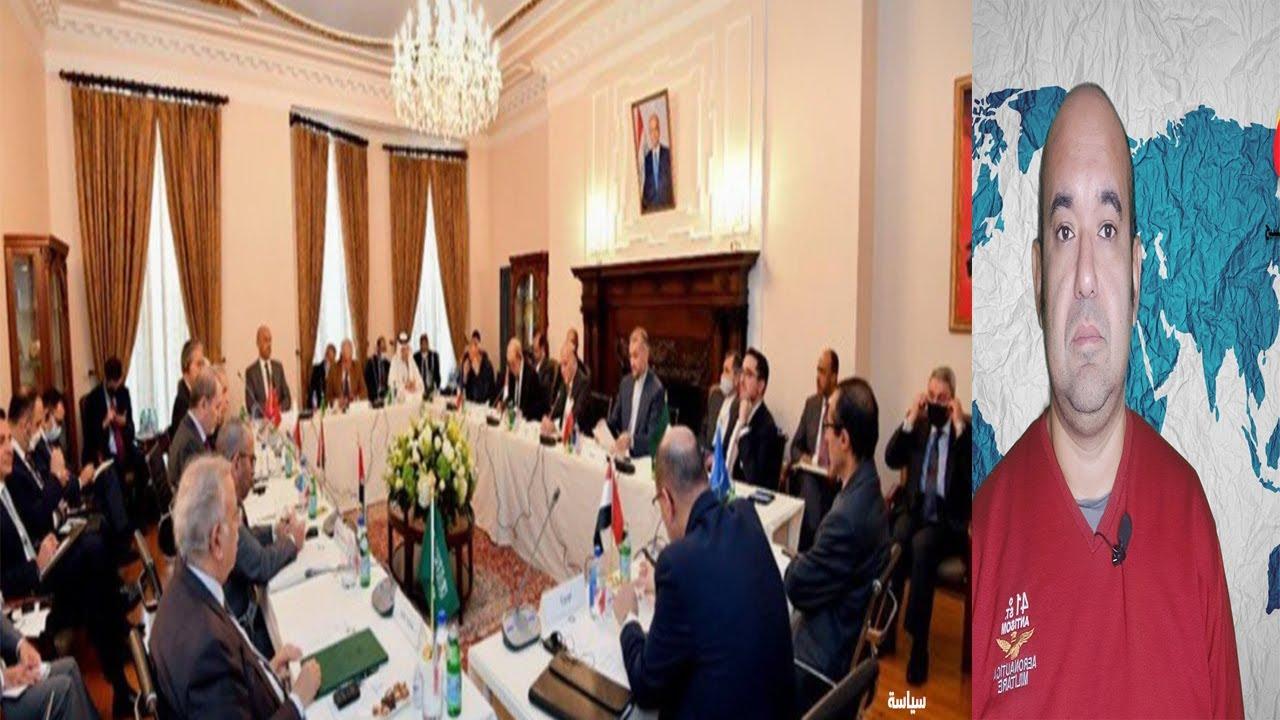 حدث بالفعل لقاء رفيع  بين ايران من جهة والكويت والامارات والسعودية لتحقيق السلام بينهم