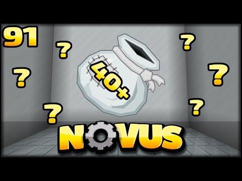 NET OPENING   MEGA CHALLENGE   Minecraft NOVUS #91   Minecraft Modpack