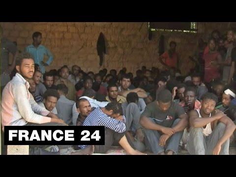 Exclusif : en Libye, l'éprouvante détention de migrants subsahariens