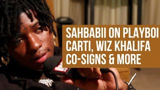 Sahbabii: 'Pull Up Wit Ah Stick' Co-Signs, Young Thug Studio Session