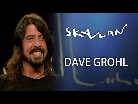 """Dave Grohl Interview   """"It absolutely broke my heart""""   Skavlan"""