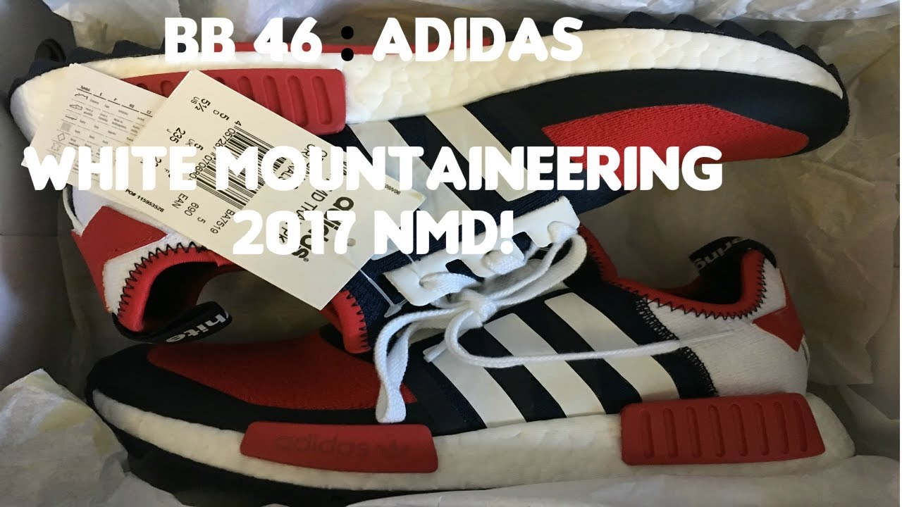 the latest 13bcb 6ce86 BB 46 : Adidas White Mountaineering 2017 NMD!