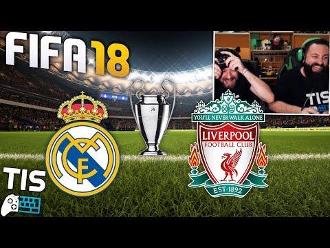 Τελικός Champions League ⚽ Real Madrid -  Liverpool  στο FIFA 18!