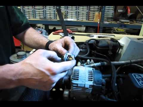 Coolant Hoses & Thermostat Replacement On Defender 90
