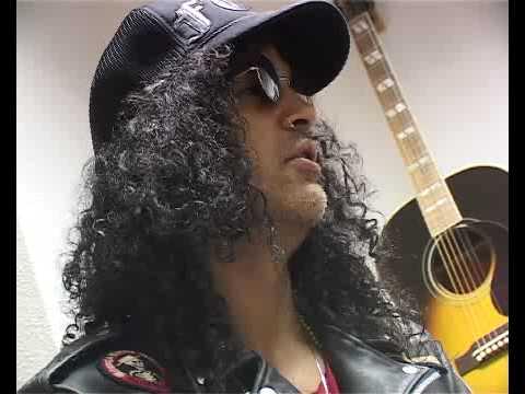 FHM Meets Guitar And Hair Legend Slash