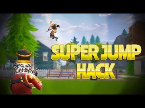 SUPER JUMP HACK (Fortnite Battle Royale)