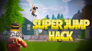 SUPER JUMP HACK (Fortnite Battle Royale) | rhinoCRUNCH