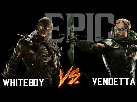 Thumbnail: Injustice 2 - VSGC- WhiteBoi (ScareCrow) Vs Vendetta (Green arrow) Epic