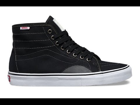 Shoe Review  Vans  Herringbone  AV Classic High (Black White) - YouTube 73a1c1908
