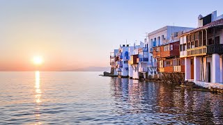 Mykonos island (Greece): impressions (+ SPECTACULAR SUNSET)