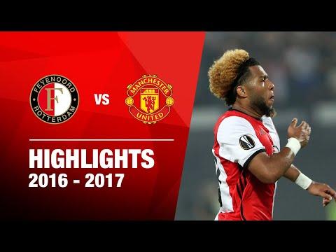 Samenvatting Feyenoord - Manchester United UEL 16-17