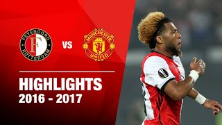Samenvatting | Feyenoord - Manchester United 2016-2017
