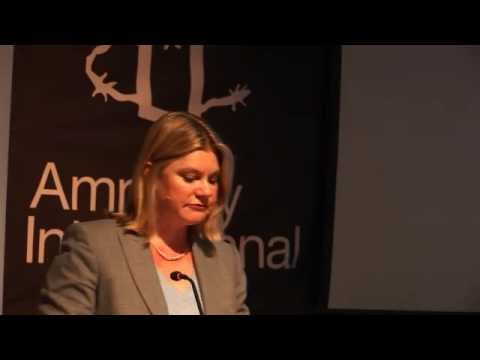 Putting women and girls at the heart of international development: Justine Greening's keynote speech