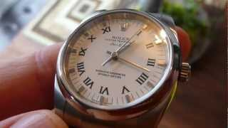 Rolex Air-King 34mm Watch with Roman Numerals Review