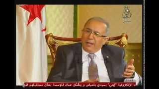 حوار الساعة - رمطان لعمامرة - التلفزيون الجزائري