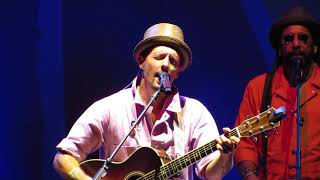 Jason Mraz Opening number Let's See What the Night Can Do Good Vibes Tour Cleveland
