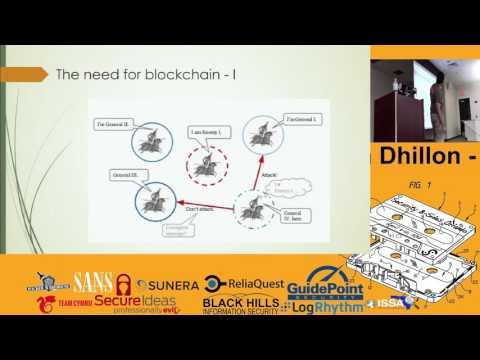 Vikram Dhillon -Blockchain-as-a-service -BsidesOrlando 2015