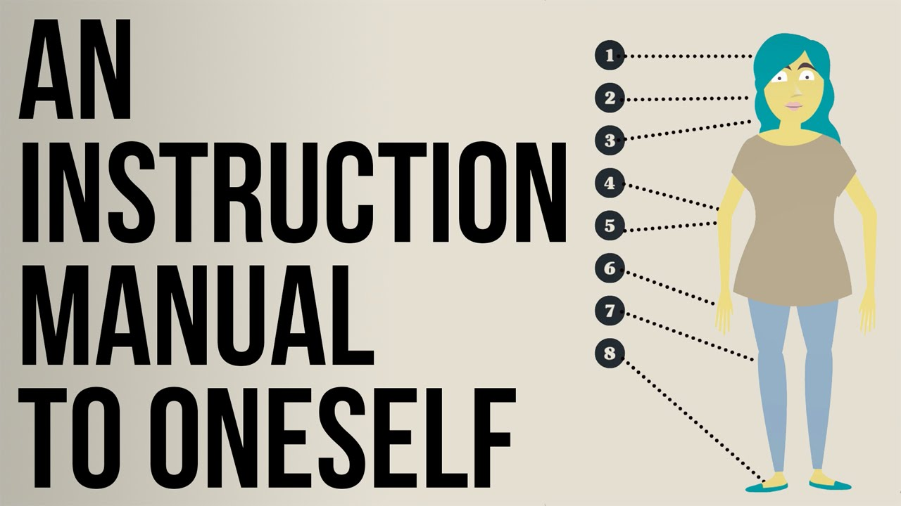 an instruction manual to oneself youtube rh youtube com instruction guide template instruction guideline