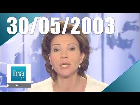20H France 2 du 30 mai 2003 - Dernier vol du Concorde    Archive INA