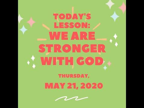 OSLC 2020 0521 Children's Sermon