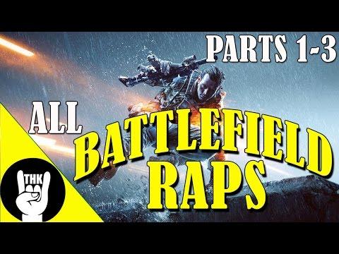 BATTLEFIELD ROCK RAPS 1-3 | TEAMHEADKICK