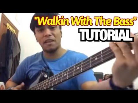 Walkin With The Bass TUTORIAL - Barry Likumahuwa