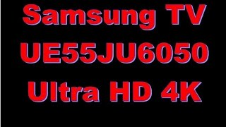 Samsung UHD TV UE55JU6050 Test - Review - Lohnt sich ein 4k TV? - Flecken im Bild