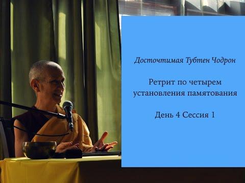 Mindfulness of the mind and phenomena