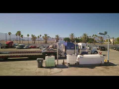 Kenworth All Nice And Clean! DJI Mavic Footage