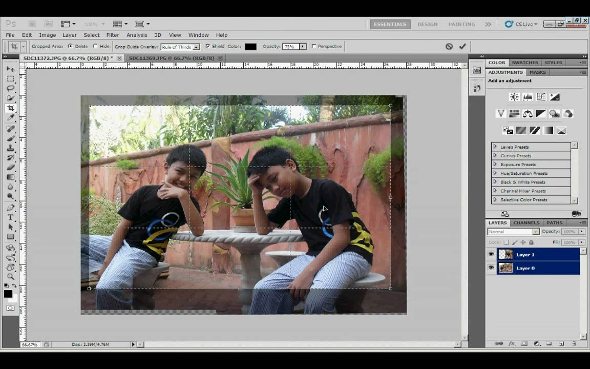photoshop cs5 how to make giudes