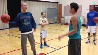 Coach Mike danger of one handed passing