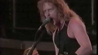 1991.09.28 Metallica  - Harvester of Sorrow (Live in Moscow)