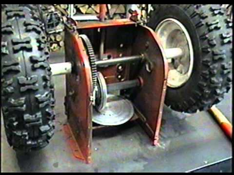 Bolens Lawn Tractor Parts Diagram Wiring For Bathroom Fan From Light Switch Uk How The Friction Disc Wheel Works On Your Snowblower - Youtube