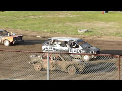 Grand Rapids Speedway Enduro-June 2017-Start of Race-1st Segment