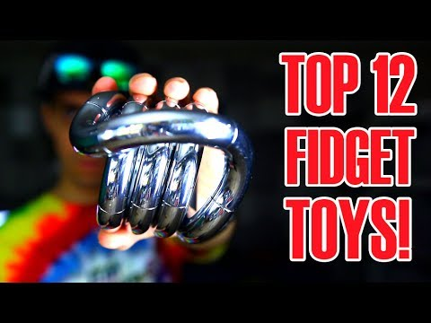 Thumbnail: TOP 12 AWESOME FIDGET TOYS THAT ARE NOT HAND SPINNERS (REVIEW AND UNBOXING)