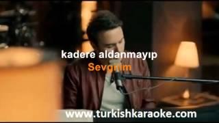 Sevgilim Mustafa Ceceli Karaoke versiyon