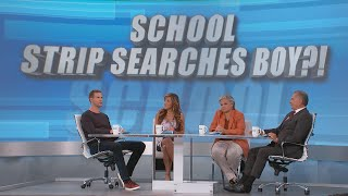 Why Was Strip Search Performed on an 8-Year-Old in His School?