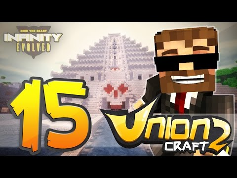 "Minecraft ►FTB INFINITY EVOLVED ►""UnionCraft 2""- ""MAYAN PYRAMID REVEAL!!""-EP 15"