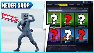 😱MARSHMELLO SKIN & NEUES Emote im SHOP!! 🛒 Fortnite Shop 27.07